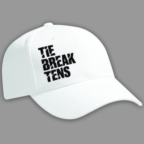 Tie Break Tens White Cap
